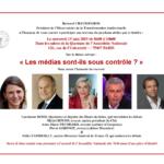 OTA- Petit-déjeuner débat du 19 juin sur le thème: Les Médias sont-ils sous contrôle ?